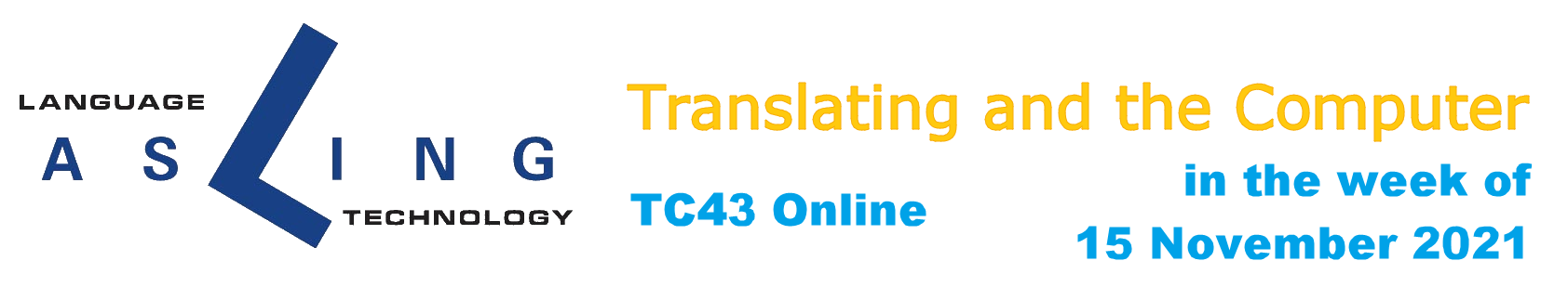 TC43:Translating and the Computer 43