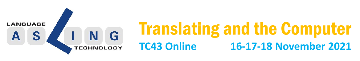 TC43: Translating and the Computer 43